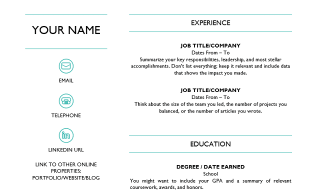 School leaver cv template jobrapido blog cv word cv template yelopaper Choice Image