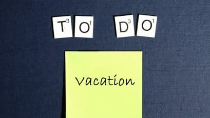 How to Organise Work Before Going on Vacation